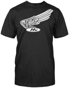 Honda Nostalgic  Racing  Motorcycle Gear Shirt Top Mens Wear Tee