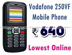 Vodafone 250VF Mobile Phone at Just Rs.640 Only [Lowest Online]