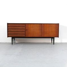 Credenza by Nils Jonsson for Hugo Troeds 60s | Danish Modern Teak Sideboard