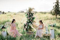 Bridal Inspiration Shoot featuring Bloom Screens - Decor & Rentals // Bridal Style // Wedding Rentals // Backdrops // Silk Florals // Bridal Gown // Outdoor Weddings // Blush Wedding // #albertaweddingsocial #weddinginspiration #styledshoot #weddingstyle #silkflorals #boho #modernwedding #blushwedding Field Wedding, Garden Wedding, Wedding Trends, Wedding Styles, Real Weddings, Outdoor Weddings, Wall Backdrops, Wedding Rentals, Beautiful Gowns