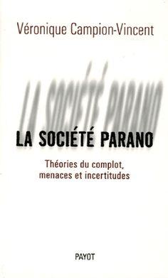 La société parano   Bibliothèques de Pantin