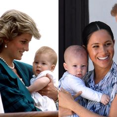 A glimpse of baby Archie during the royal couple's trip to Africa shows that the son of Prince Harry and Meghan, Duchess of Sussex, bears a strong resemblance to his dad. Prinz Harry Meghan Markle, Meghan Markle Prince Harry, Prince Harry And Megan, Harry And Meghan, Princess Diana Family, Princess Meghan, Prince And Princess, Lady Diana, Estilo Kate Middleton