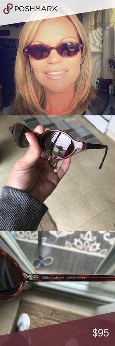 Giorgio Armani Vintage Sunglasses Giorgio Armani Vintage Sunglasses in Very Good Condition!! Armani Accessories Sunglasses