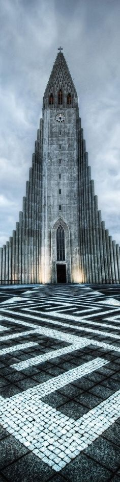 Hallgrimskirkja, Reykjavík, Iceland >>> You get the best views form up here - you can see all of Reykjavik. It only costs a few dollars and the proceeds to go the church. I highly recommend it!