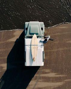Roadtrip Vibes - mit dem eigenen Bulli oder Van und Surfbrett auf in neue Abenteuer ♡ TheHalifaxJungle : Foto