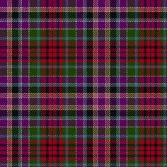 Tartan image: Gordon, Red (1819). Click on this image to see a more detailed version.
