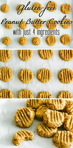 Gluten-free just got tastier (and easy to make at home!). With only four ingredients, make these delicious peanut butter cookies! Seriously, so easy. http://www.ehow.com/ehow-food/blog/healthy-gluten-free-peanut-butter-cookies-with-just-four-ingredients/?utm_source=pinterest.com&utm_medium=referral&utm_content=blog&utm_campaign=fanpage