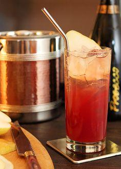 Pear Pomegranate Cooler