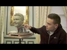 Sculpting Liam Payne from One Direction at Madame Tussauds London. SO EXCITED