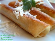 Jalapeño Cream Cheese Taquitos. So easy and they taste even better than the 7-11 version we always get!