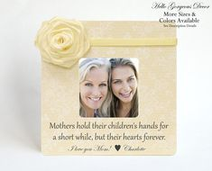 mothers day gift to mom picture frame personalized gift from daughter son mothers hold their childrens hands mothers day frame new mom - Mom Frames