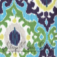 Would love curtains made of this. Maasai Blue ~ Maasai Mara @ Sew Mama Sew