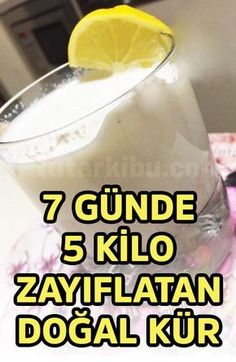 5 Tage Weight Loss Cure Rezept in 7 Tagen - elıf cakır - Lose Weight Weight Loss Tea, Lemon Diet, Health Cleanse, Vegetable Drinks, Homemade Beauty Products, Want To Lose Weight, Yogurt, The Cure, Health Fitness