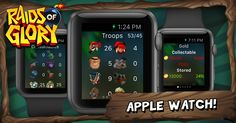 Raids of Glory now supports Apple Watch!