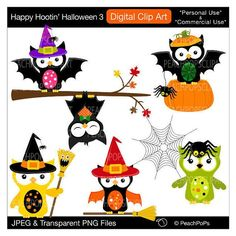 2015 Follow me with Halloween owl clipart ღ ஐ ღ - Fashion Blog