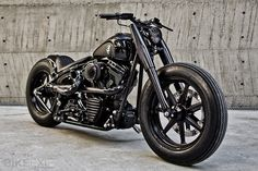 """Shadow Rocket"" Harley-Davidson FLSTF Softail Fat Boy 2002 by Rough Craft. Looks bad ass."