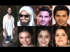 Bollywood Stars At Shahid Kapoor's Pre Birthday Bash