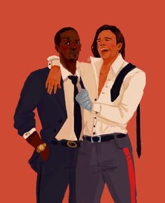Sam and Bucky after a party by persehpone<<<Sam would be the sober one haha even though neither Bucky nor Steve can get drunk because of the serum running through their veins. Marvel Funny, Marvel Memes, Marvel Avengers, Marvel Comics, Steve Rogers, Bucky Barnes Marvel, Thor Y Loki, Marvel Couples, Winter Soldier Bucky