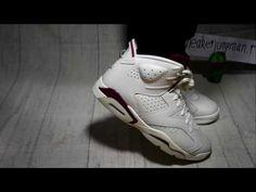 on sale 175f1 864e7 Authentic Jordan 6 Maroon on Foot