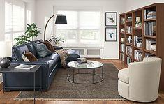 Otis Swivel Chair - - Modern Living Room Furniture - Room & Board Living Room Carpet, New Living Room, Living Area, Room And Board Furniture, Space Furniture, Arrange Furniture, Tiny Apartment Living, Bedroom Apartment, Apartment Ideas