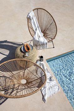 Look Boho, Decoration Inspiration, Chenille, Hygge, Hanging Chair, Elle Decor, Monet, Ibiza, Home Appliances