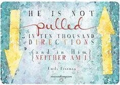 He is not pulled...neither am I...