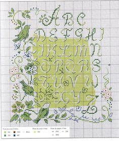 Greenery Alphabet