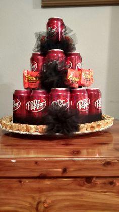 Dr Pepper Gift Basket Creative Fun Birthday Gift