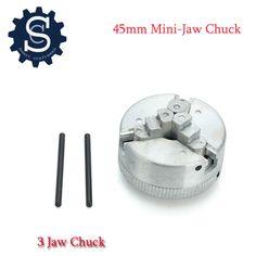 Mandril 3 mandíbula mini torno chuck 45mm para Mini 6 en 1 mandíbula plato de…