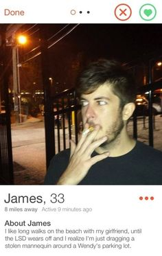 34 Absolutely Hilarious Recreations of Tinder Profile Pics #Tinder ...