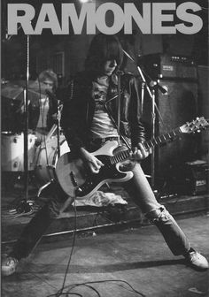 Johnny Ramone, fastest rhythm shooter in the west.