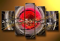 Cuadros Abstractos Modernos En Acrilico  Texturados-relieves - $ 1.699,99 5 Piece Canvas Art, Large Canvas Art, Hand Painting Art, Painting Canvas, Canvas Paintings For Sale, Large Painting, Oil Paintings, Abstract Wall Art, 5 Panel Wall Art