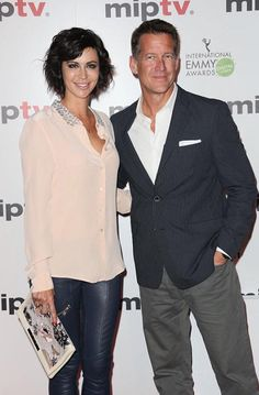 Catherine Bell and James Denton, #MIPTV #Cannes April 2015