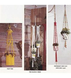 Knotting Matters 16 Macrame Projects Patterns & Instructions - Vintage 1970's Craft Book J102