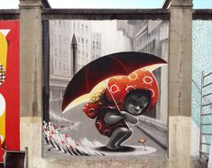 Street Art by Animalito, located in Madrid, Spain