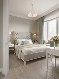 50 Best Bedroom Interior Design Ideas With Luxury Touch. A number of interior designers have had successes from previous designs that capture the plain white room into something that can distract . Modern Bedroom Design, Master Bedroom Design, Home Bedroom, Bedroom Decor, Bedroom Ideas, Contemporary Bedroom, Bedroom Curtains, Bedroom Brown, Velvet Curtains