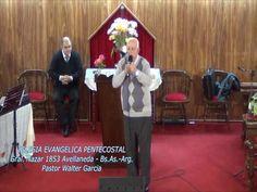 Estando en el centro de la Voluntad de Dios. Pastor Walter Garcia. 11-05-2014