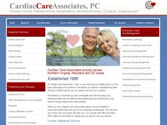 Cardiac Care Associates, PC among the top cardiologists in northern Virginia, specializes in comprehensive state-of-the-art preventative, diagnostic, interventional, and clinical cardiology.