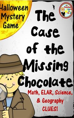 Halloween Fun At Work | Halloween Mystery Game Elar Math Science And Geography