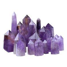 Lilac Amethyst Crystal Wands Natural Stone World