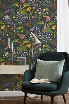 RABARBER Scandinavien designers II | Wallpaper | I butik: 15 juni 2016 | borastapeter.se | via trendspanarna