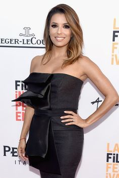 Pin for Later: Eva Longoria Hits the Red Carpet For the First Time Since Getting Married