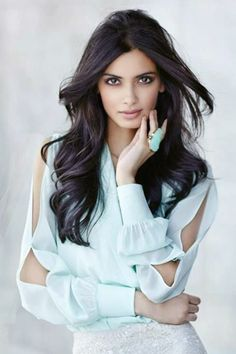 Aishwarya long hairstyle