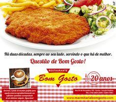 Anúncio - Restaurante Bom Gosto