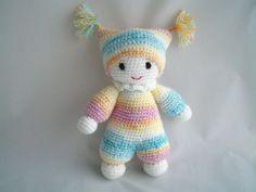Crochet Baby Doll /  Crochet Amigurumi by CrochetcutiesbyJools