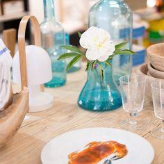 #lamaisonmarseillaise #marseille #design #shop #store #france #flower #lamp #light #marset #followme #vase #blue #porcelain #plate #jerseypottery #crab #wood #table #glass #imperfectdesign #danish