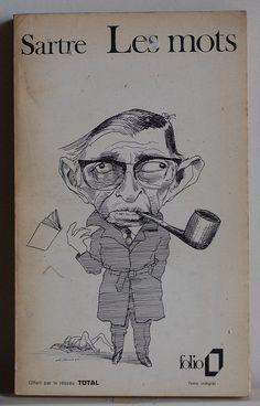 Les mots, Jean Paul Sartre by alexisorloff, via Flickr