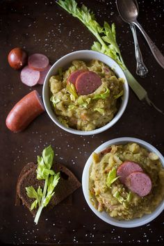 Dutch split pea soup