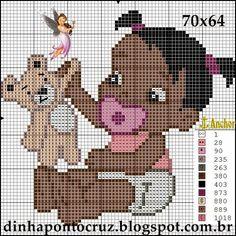 http://dinhapontocruz.blogspot.com.br/2014/10/moreninhos-ponto-cruz.html