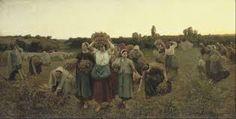 jules breton paintings - Buscar con Google